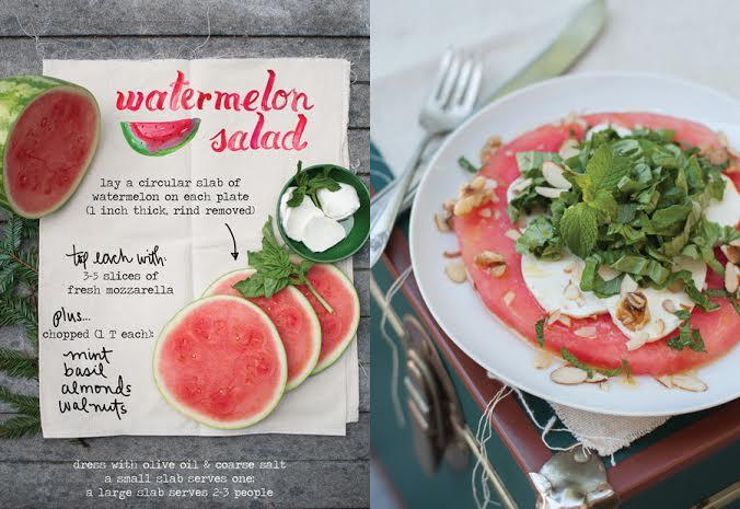 Watermelonsaladtheforestfeast